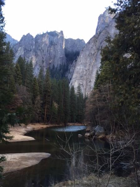 景色依然優美,但是水少了很多