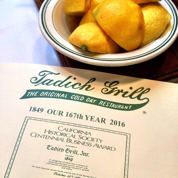 tadich-menu